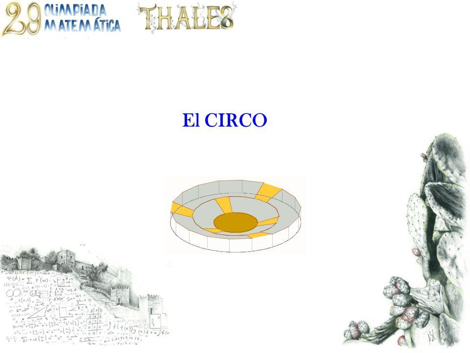 Tipo de resolución: ARITMÉTICA Menú Enunciado Cada segmento, divide a las coronas circulares en trozos iguales de 120º.