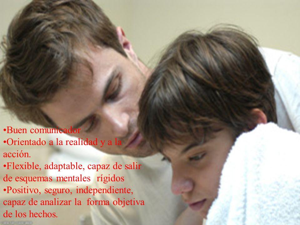 www.tonterias.com Buen comunicador Orientado a la realidad y a la acción. Flexible, adaptable, capaz de salir de esquemas mentales rígidos Positivo, s