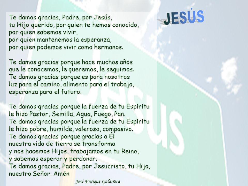 34 Y como lo he visto, doy testimonio de que él es el Hijo de Dios. La misión de las seguidoras y seguidores de Jesús es ver y mirar a Jesús -proclama