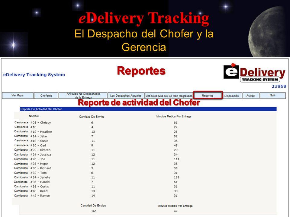 Driver Activity Report