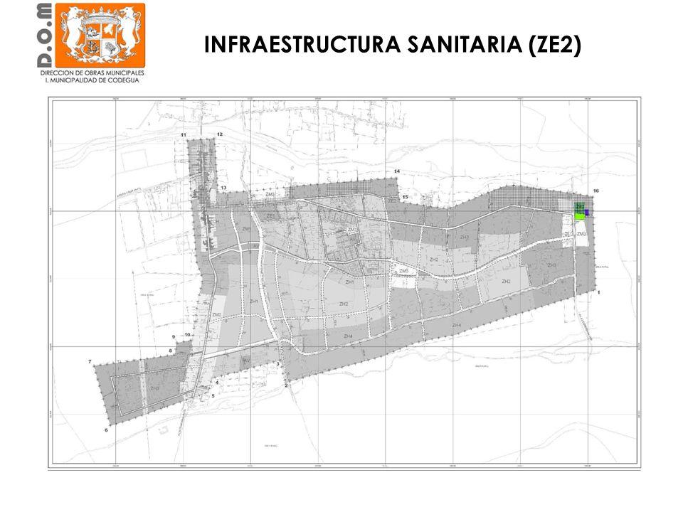 Estadio Municipal Club Deportivo Cordillera INFRAESTRUCTURA SANITARIA (ZE2)