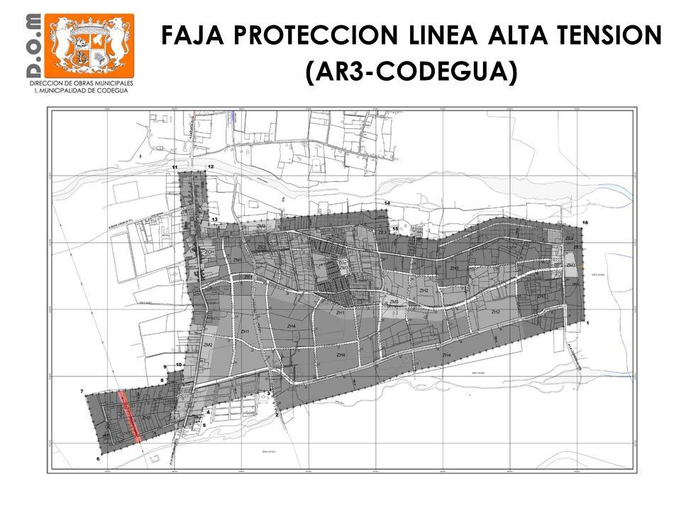 FAJA PROTECCION LINEA ALTA TENSION (AR3-CODEGUA)