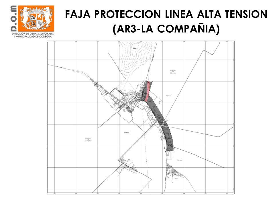 FAJA PROTECCION LINEA ALTA TENSION (AR3-LA COMPAÑIA)