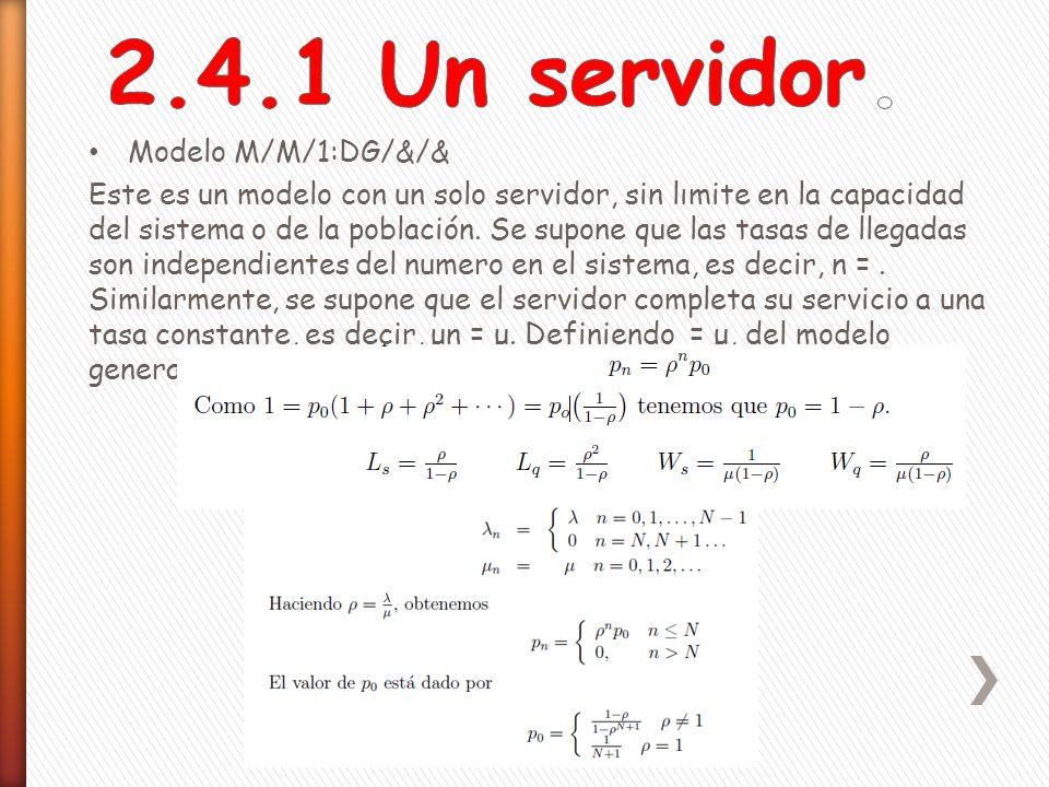 Al usar c servidores paralelos se acelera la tasa de servicio.