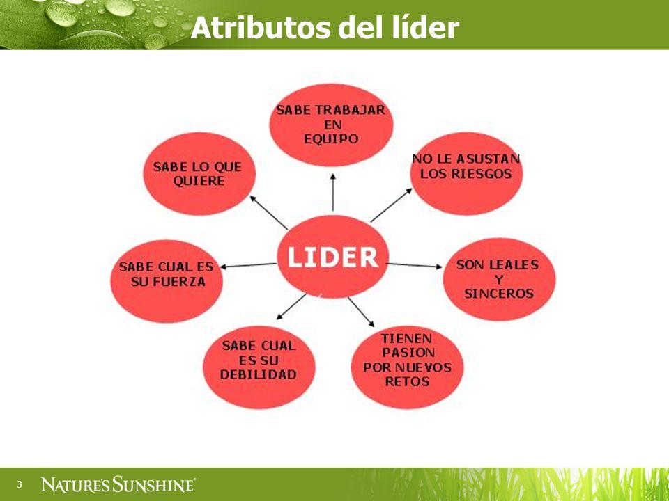 3 Atributos del líder