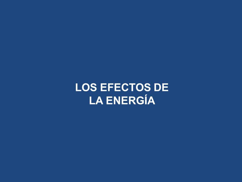 LOS EFECTOS DE LA ENERGÍA