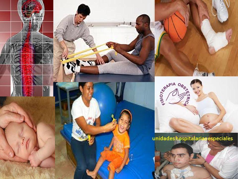 unidades hospitalarias especiales