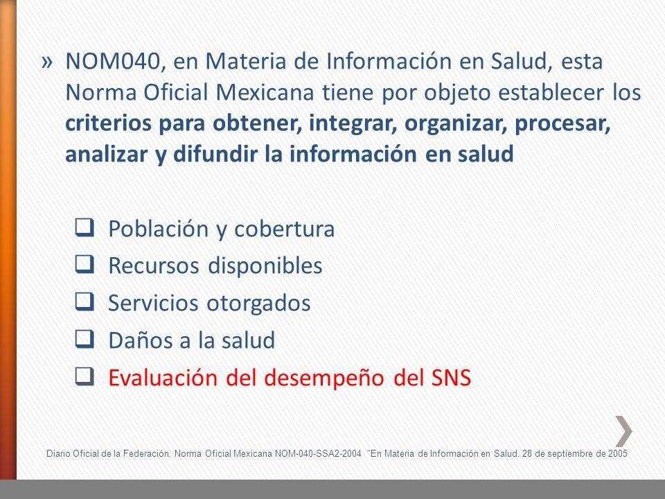 Diario Oficial de la Federación. Norma Oficial Mexicana NOM-040-SSA2-2004