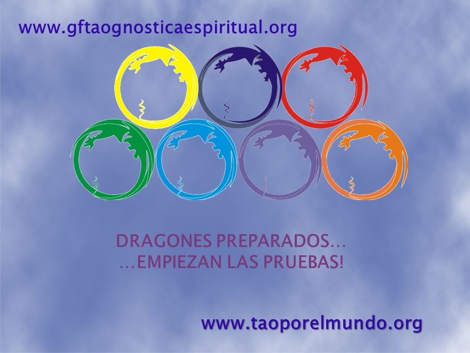 TODOS LISTOS Y ORGANIZADOS… EMPIEZA LAS OLIMPIADAS CON UNA ORASEL primer y segundo día de competencias www.gftaognosticaespiritual.orgwww.taoporelmundo.org