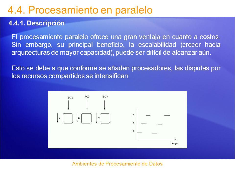 4.4.Procesamiento en paralelo 4.4.2.