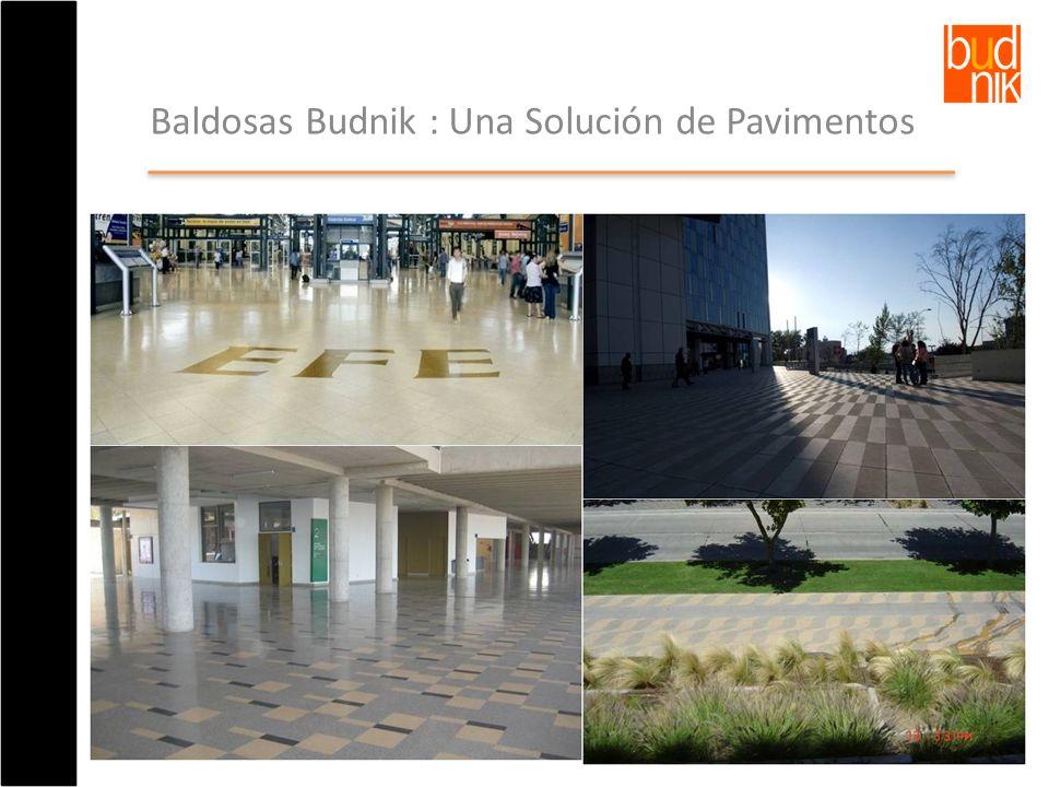 Baldosas Budnik : Una Solución de Pavimentos
