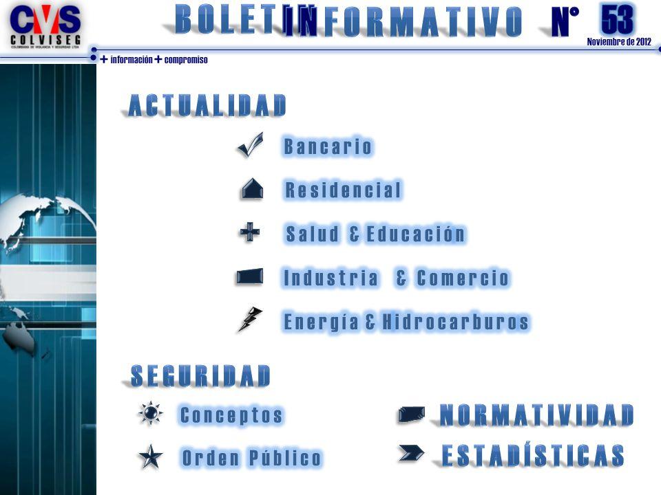 Noviembre de 2012 + información + compromiso