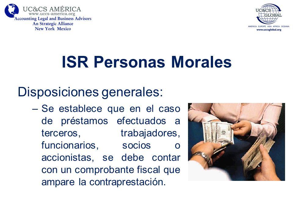 ISR Personas Morales Deducciones fiscales: –En el caso de vales de despensa deberán ser entregados a través de monederos electrónicos autorizados por el SAT.