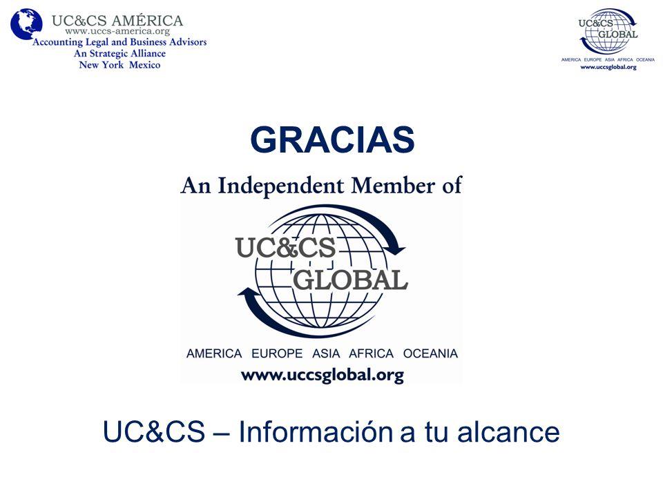 GRACIAS UC&CS – Información a tu alcance