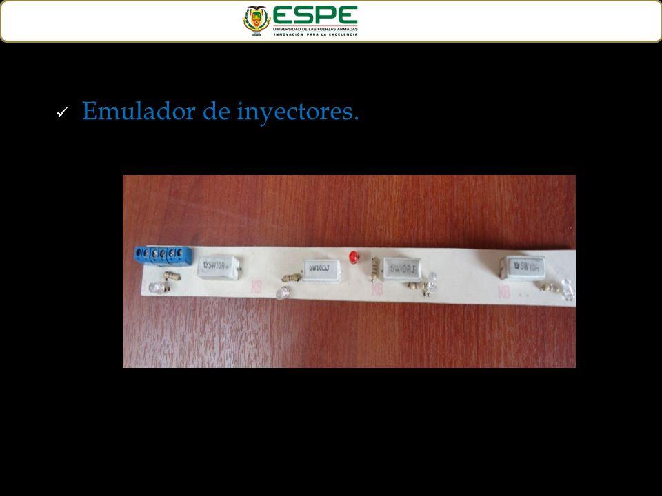 Emulador de inyectores.
