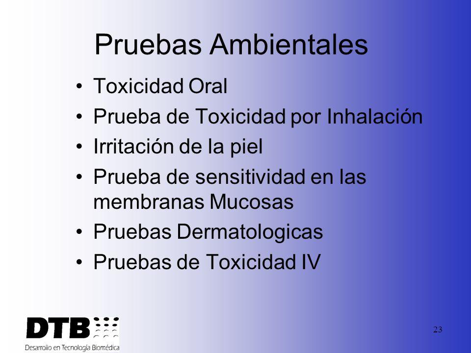 22 Normas & Validaciones Minncare ® es validado acorde con: Normas y regulacionese en US: EPA Normas en UE para Actividades Bactericidas Fungicidas My