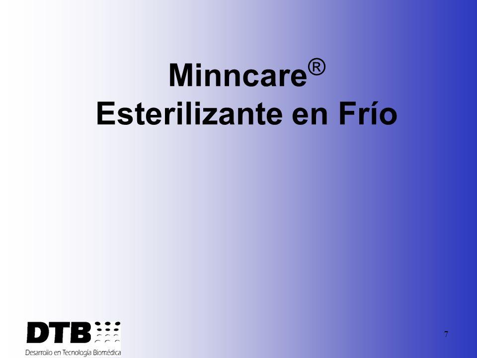 7 Minncare ® Esterilizante en Frío