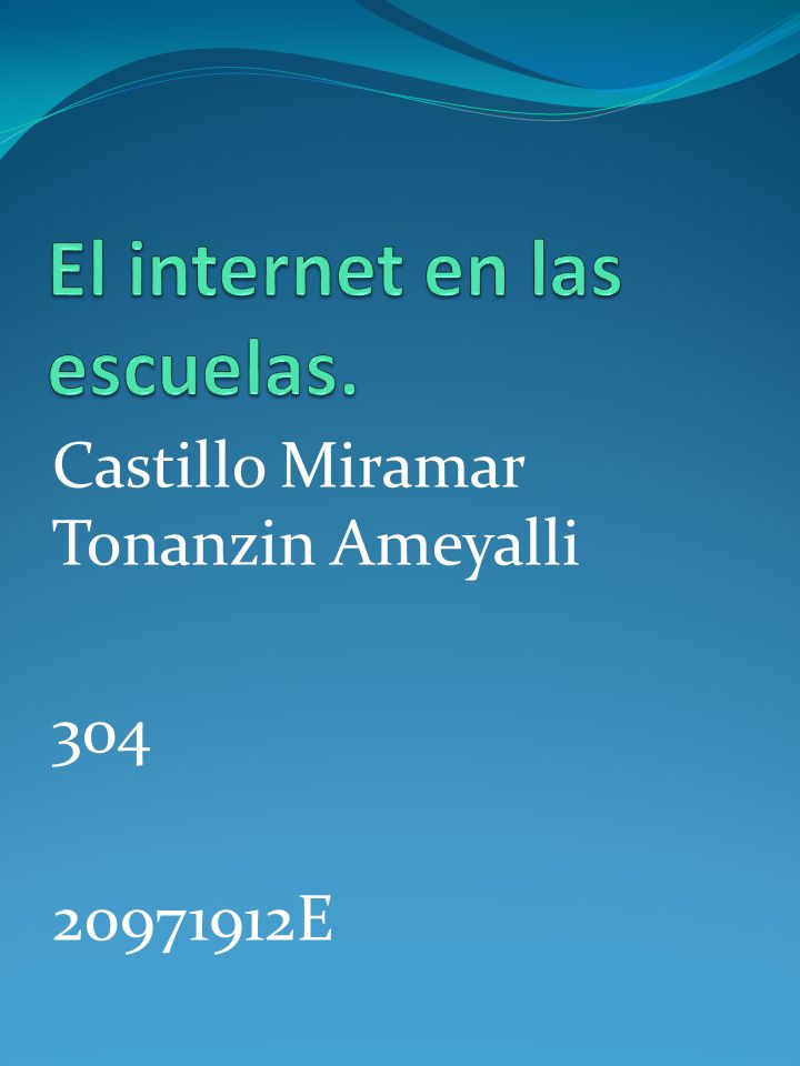 Castillo Miramar Tonanzin Ameyalli 304 20971912E