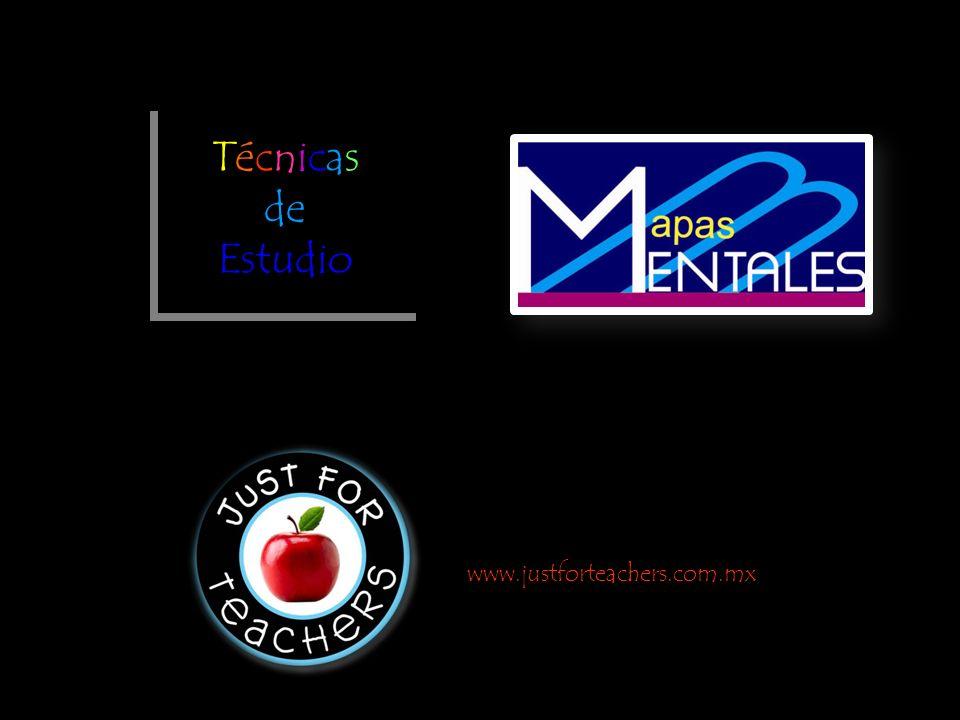 Técnicas de Estudio www.justforteachers.com.mx