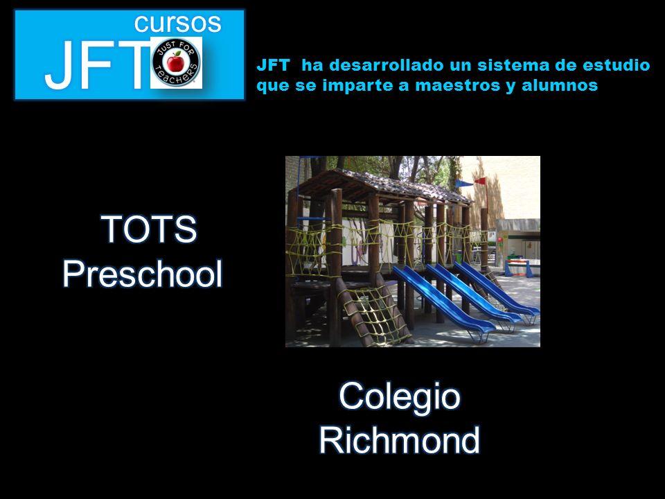 JFT ha desarrollado un sistema de estudio que se imparte a maestros y alumnos