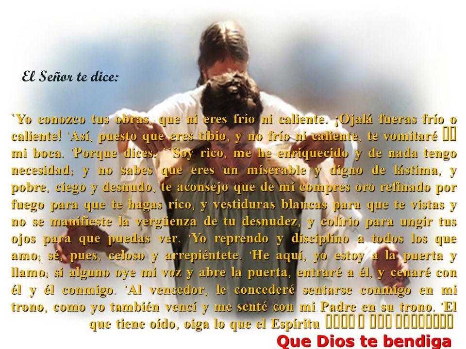 El Señor Jesús dijo: ¿No decís vosotros: Todavía faltan cuatro meses, y después viene la siega.