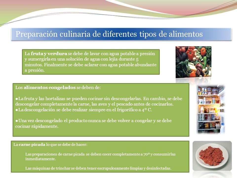 EL PAPEL DE LOS MANIPULADORES COMO RESPONSABLES DE LA PREVENCIÓN DE LAS ENFERMEDADES DE TRANSMISIÓN ALIMENTARIA En los procedimientos culinarios se de