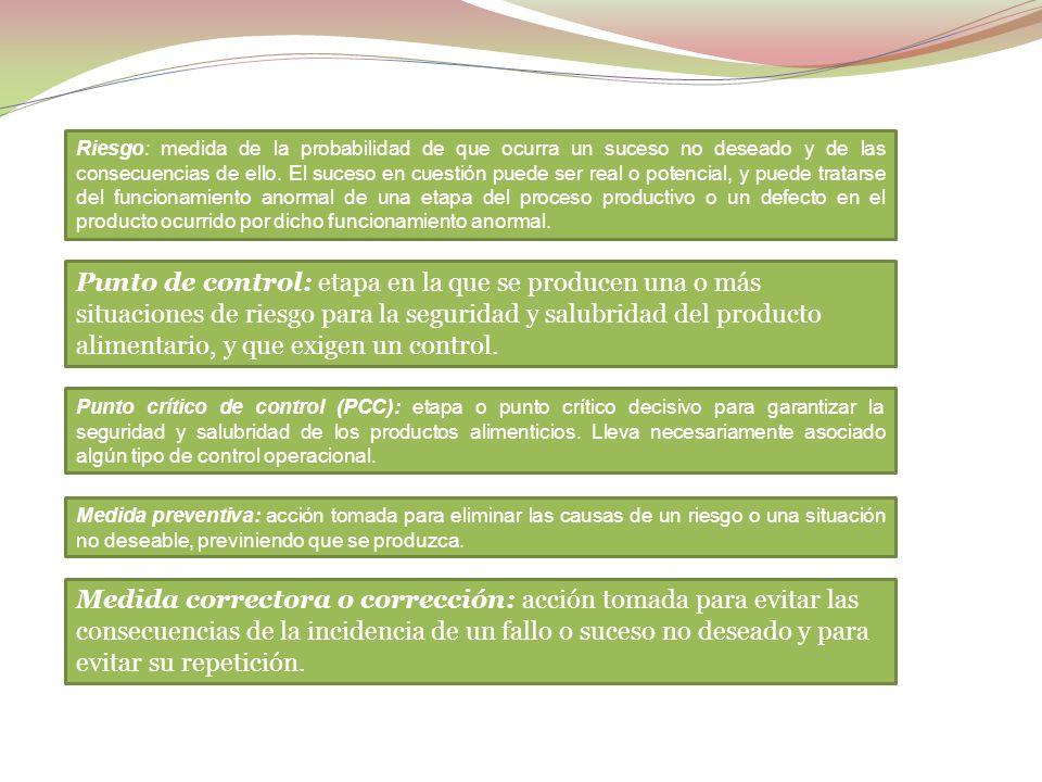 b) Autocontrol. Aspectos generales de los sistemas de Análisis de peligros y puntos de control críticos (APPCC) y guías de prácticas correctas de higi