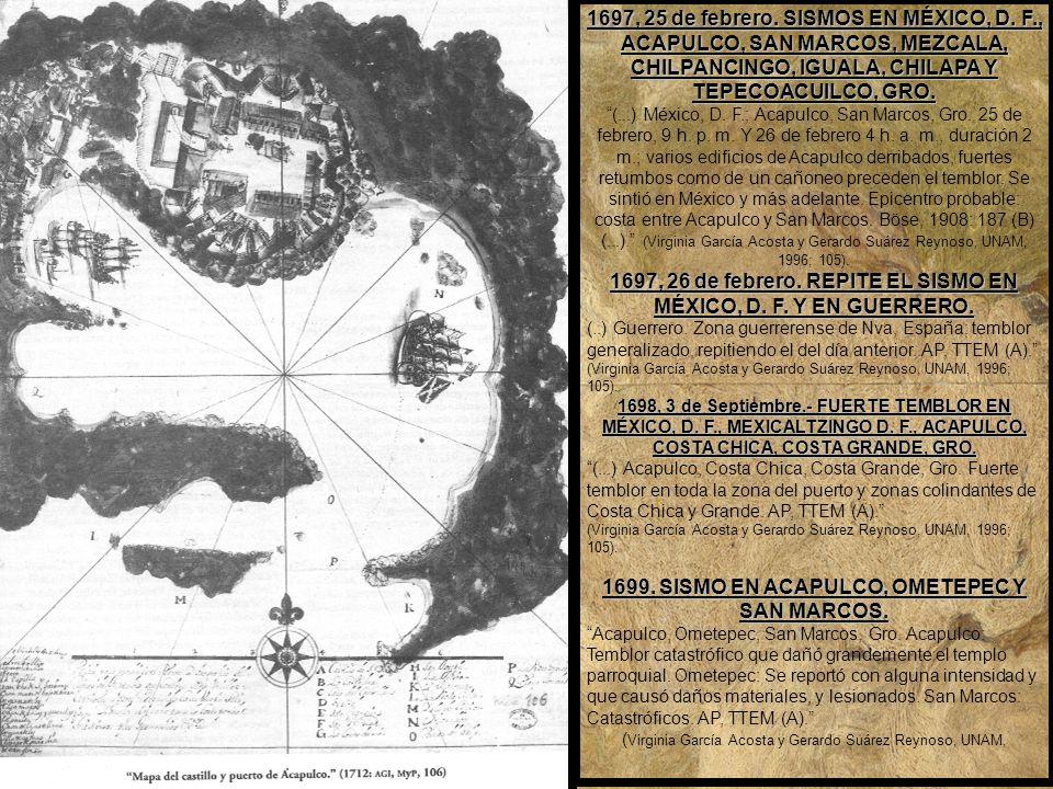 1690.ERUPCIÓN Y SISMOS DEL VOLCÁN DE COLIMA SENTIDOS EN MICHOACÁN Colima.