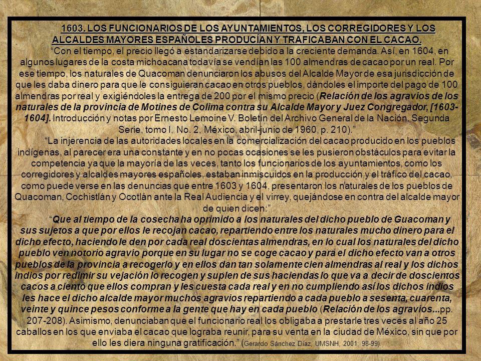 1602.IGLESIAS DE MAQUILÍ Y QUACOMAN.