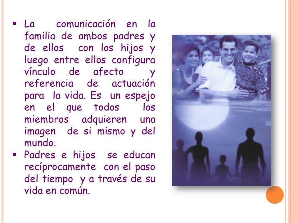 LA COMUNICACIÓN SE APRENDE. No es tarea fácil porque hay que contar con los defectos y dificultades propios y con los de la otra persona, aceptarlos y