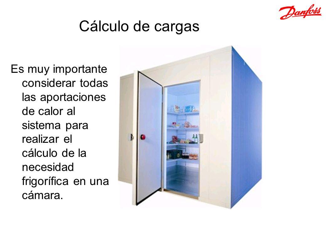 Es muy importante considerar todas las aportaciones de calor al sistema para realizar el cálculo de la necesidad frigorífica en una cámara. Cálculo de