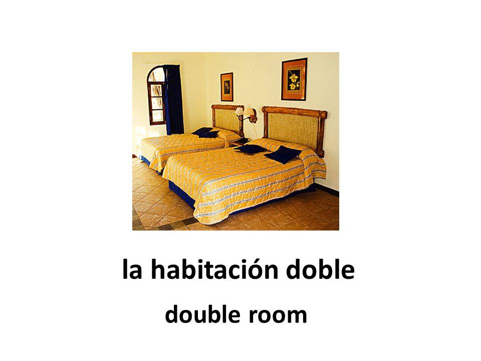 la habitación doble double room
