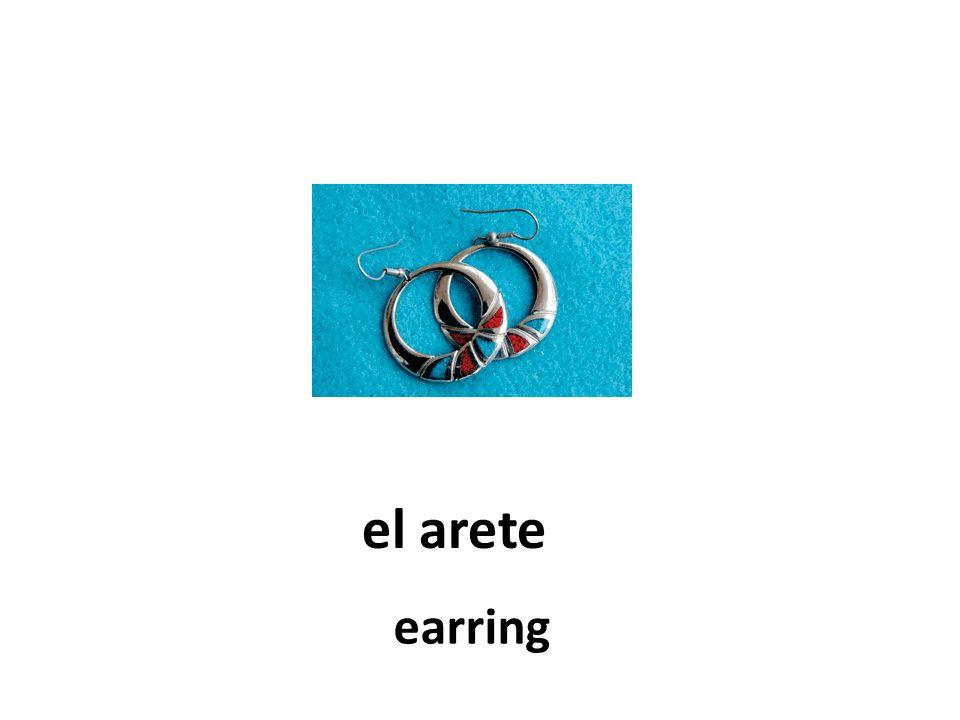 el arete earring