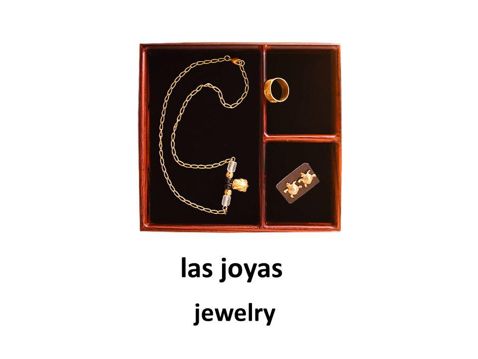 las joyas jewelry