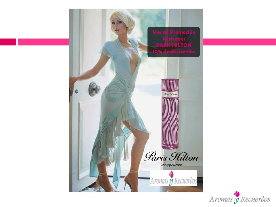 Mes de Promoción Perfumes PARIS HILTON 10% de descuento