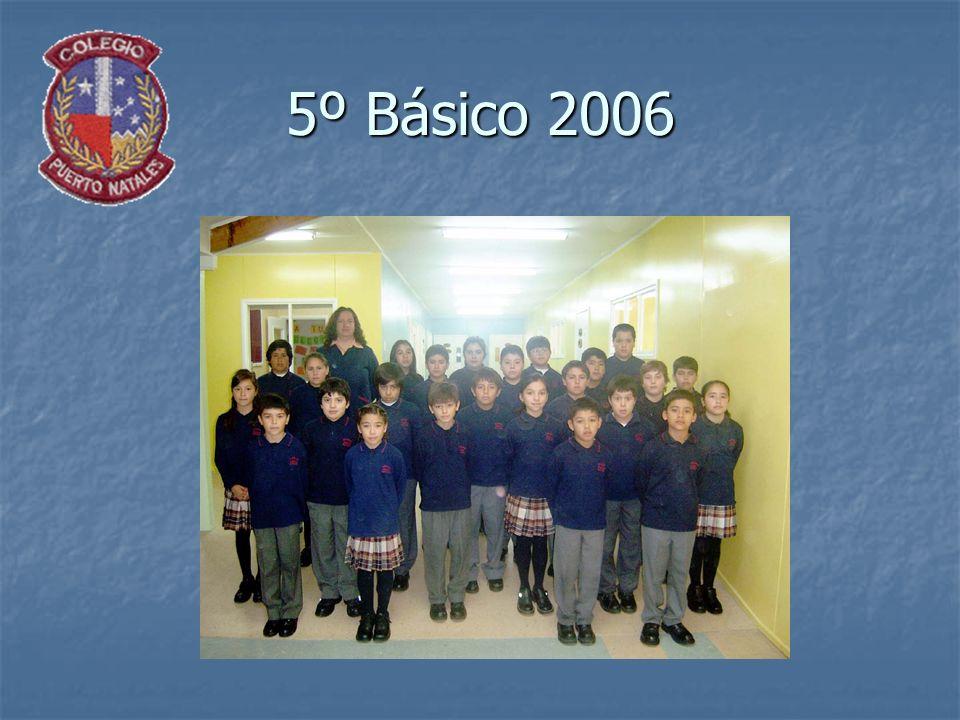 5º Básico 2006