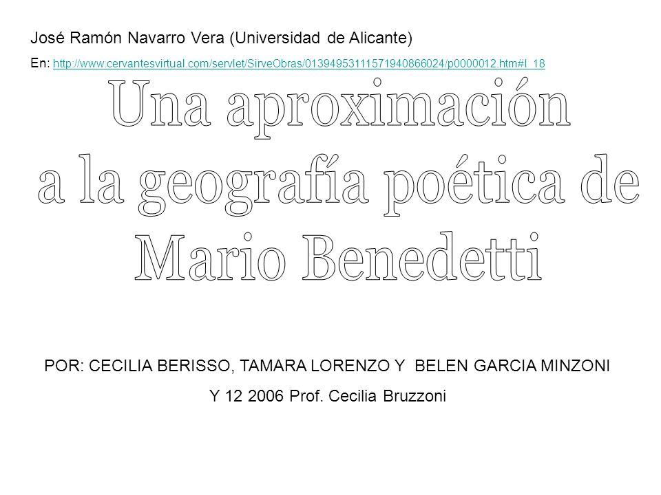 POR: CECILIA BERISSO, TAMARA LORENZO Y BELEN GARCIA MINZONI Y 12 2006 Prof.
