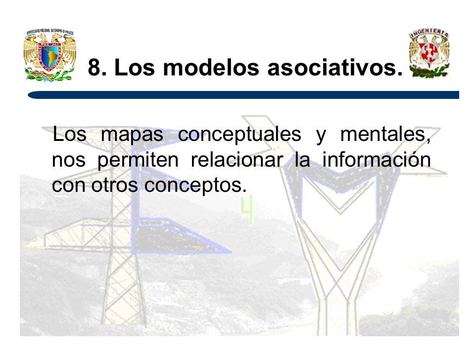 8.Los modelos asociativos.