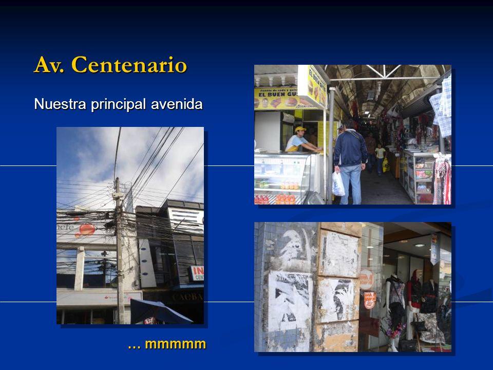 … mmmmm Av. Centenario