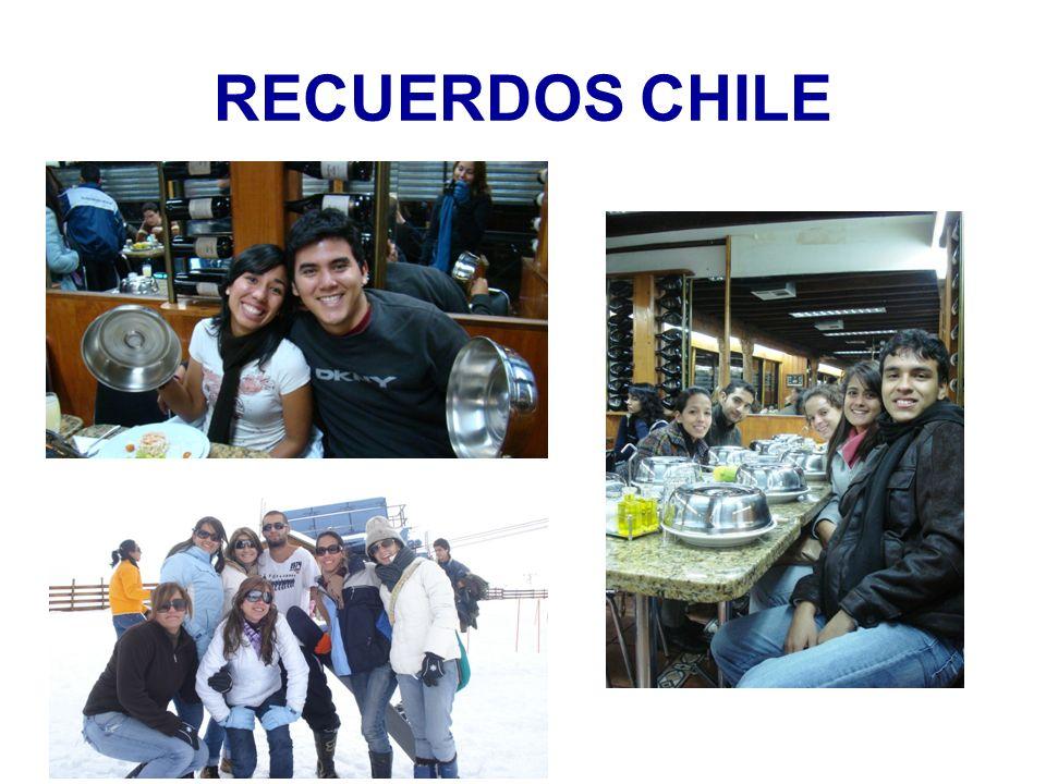 RECUERDOS CHILE