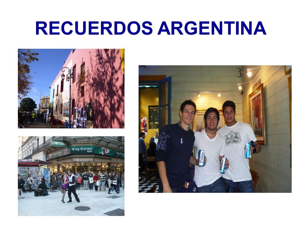 RECUERDOS ARGENTINA