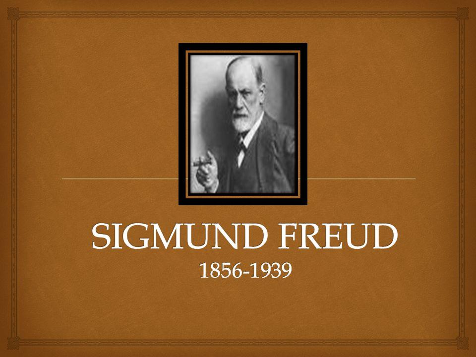 Sigismund Freud, que, a los veintidós años, habría de cambiar ese nombre por el de Sigmund, nació en Freiberg, en la antigua Moravia (hoy Príbor, Checoslovaquia), el 6 de mayo de 1856.