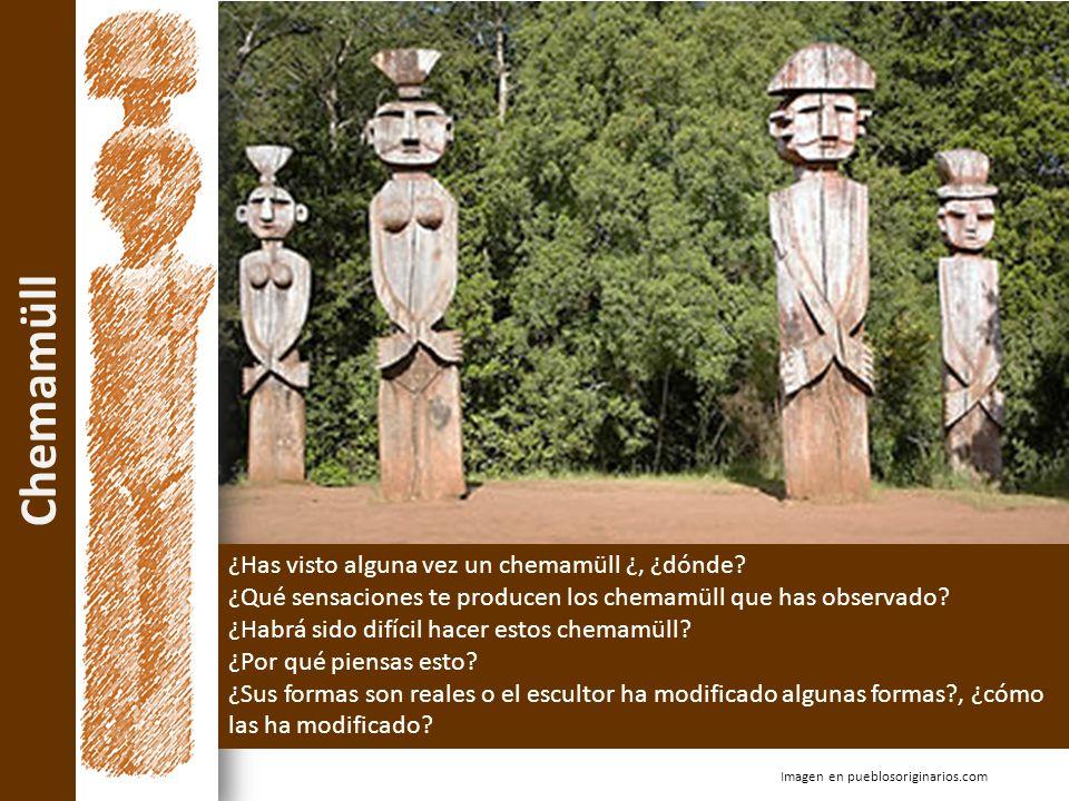 Chemamüll Imagen en pueblosoriginarios.com ¿Has visto alguna vez un chemamüll ¿, ¿dónde? ¿Qué sensaciones te producen los chemamüll que has observado?