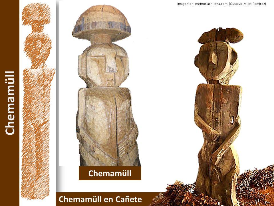 Chemamüll Chemamüll en Cañete Imagen en: memoriachilena.com (Gustavo Milet Ramírez) Chemamüll