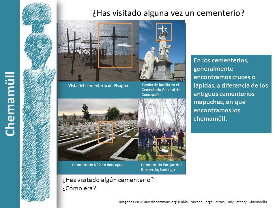 Vista del cementerio de Pisagua ¿Has visitado alguna vez un cementerio? En los cementerios, generalmente encontramos cruces o lápidas, a diferencia de