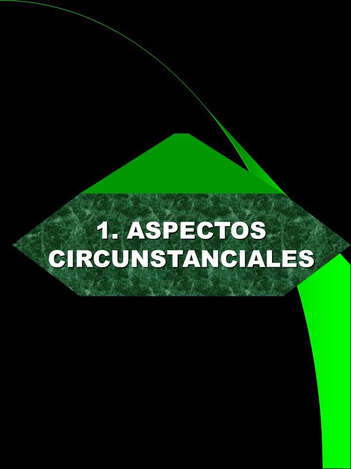 1. ASPECTOS CIRCUNSTANCIALES