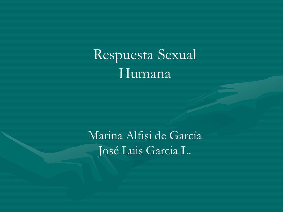 Respuesta Sexual Humana Marina Alfisi de García José Luis Garcia L.
