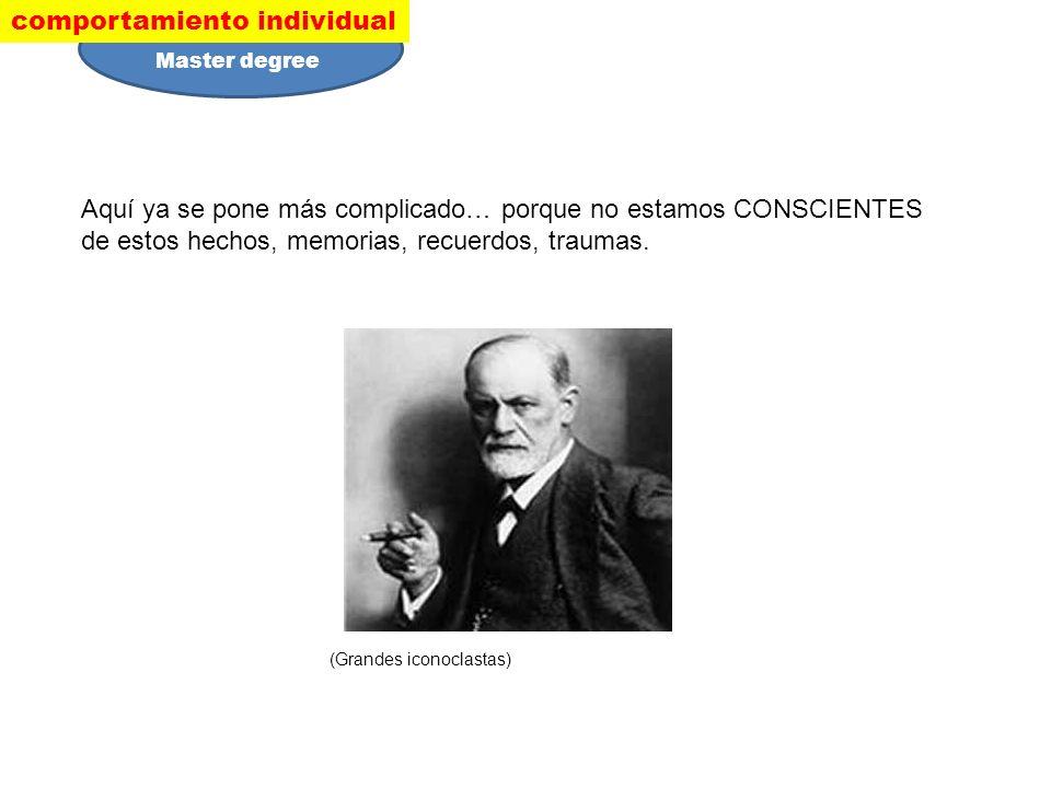 De acuerdo con Freud, el inconsciente es la fuente de nuestras motivaciones, ya sean simples deseos de comida o sexo, compulsiones neuróticas o los motivos de un artista o científico.
