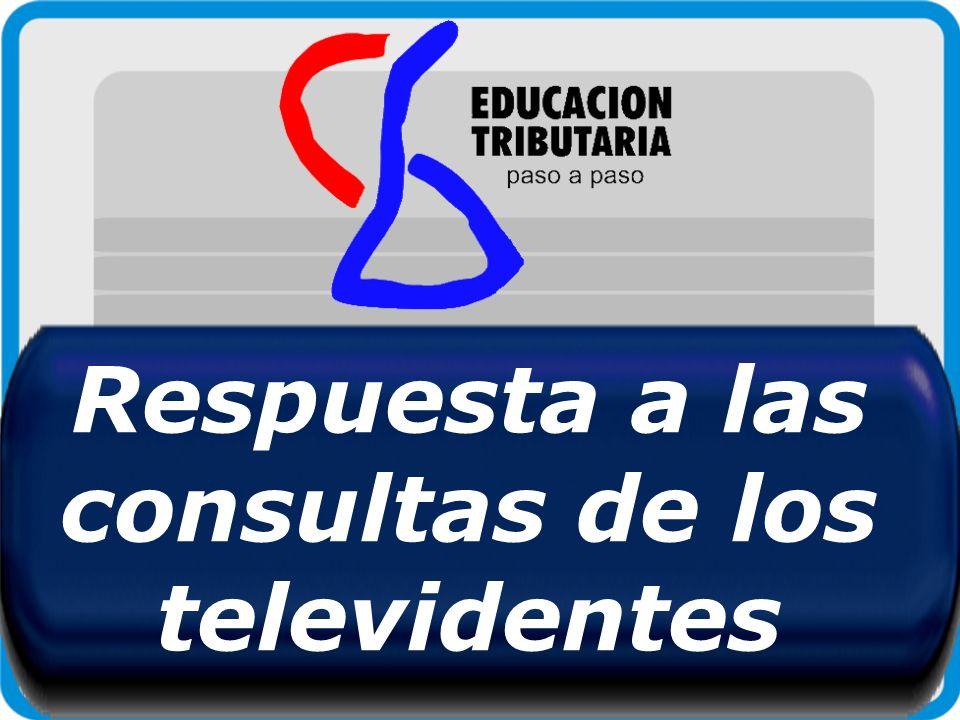 Respuesta a las consultas de los televidentes