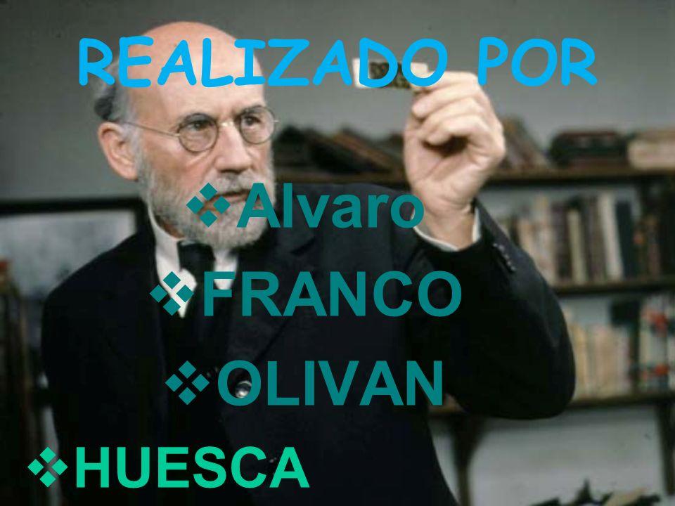 REALIZADO POR Alvaro FRANCO OLIVAN HUESCA
